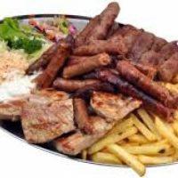 Mešano meso porcija