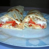 Teleći burrito