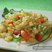 Vegeterijanski rižoto