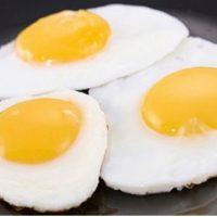 Jaja na oko 3 kom