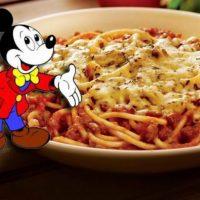 Miki maus špageti